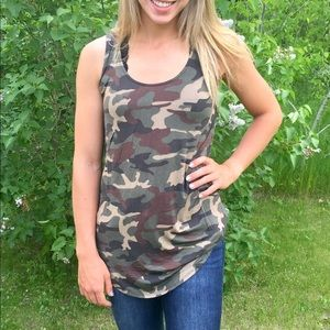 Boutique Camouflage Tank!